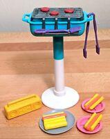 1990's Vintage Mattel Barbie BBQ Grill, Barbie Grill, Barbie BBQ, Barbie Cookout