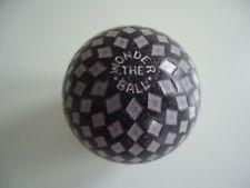 Stunning! Diamonds Pattern 'THE WONDER BALL' Golf Ball c.1923.