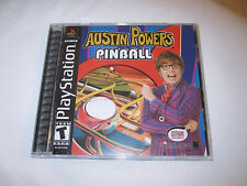 Austin Powers Pinball (PlayStation PS1) Complete Mint!