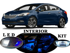 LED Package - Interior + License + Vanity + Reverse for Kia Forte (12 pieces)