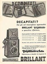 W9819 Voigtlander BRILLANT mai più decapitati - Pubblicità del 1934 - Old advert