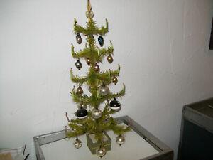 Christbaumschmuck Baum Federbaum Gansfederbaum Paradiesgarten alt #wohnzer