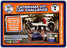 Caterham Kit Car Challenge #357 Top Gear Turbo Challenge Trade Card (C362)
