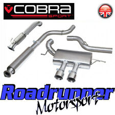 "Cobra Focus ST250 MK3 Turbo Trasera de Escape 3"" atractivo & de Cat Bajante FD47c"
