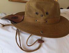 Original Outback Trading Company Oilskin Men's River Guide Hat Sz L NWT List $79