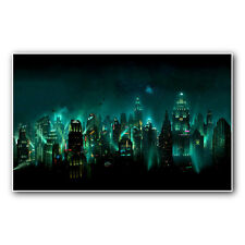 BIOSHOCK RAPTURE - 23 inch wide gaming poster print or canvas from xbox ps2 360