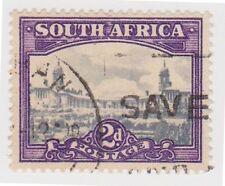 (RSA95)1926 SouthAfrica 2d blue &violet union build(C)