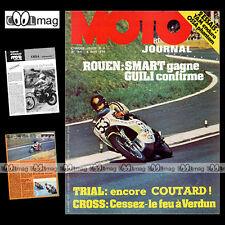 MOTO JOURNAL N°164-b YAMAHA YZ 125 OSSA PHANTOM ABF 1974 ★ POSTER PAUL SMART ★