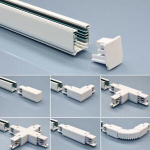 3-Phasen Schienensystem Verbinder Kupplung Einspeiser Stromschiene Aufbauschiene