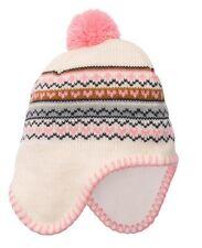 Carter's Baby Girl Winter Pom Pom Pilot Hat 3-9 Months MSRP $16