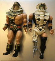 Infaceables Tuskus And War Dog Vintage Galoob Action Figure Spares