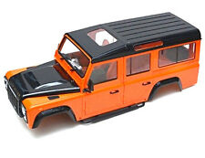 RC 1/10 LAND ROVER DEFENDER 110 WAGON W/ INTERIOR D110 Scale Hard Body+ SNORKEL