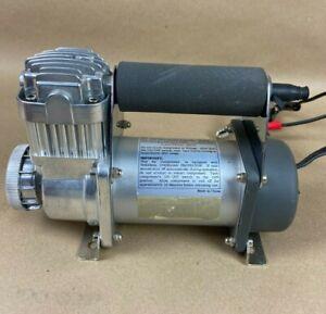 12 V Bomba de Aire Coche Port/átil 1 x Par de Abrazaderas de Bate 1 x Manguera Enrollada Estink 150PSI Mini Compresor de Aire de Rueda con Medidor de Presi/ón 1 x Compresor de Aire