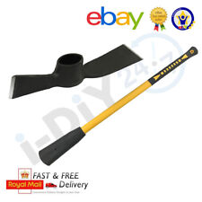 More details for 5lb mattock head and 900mm fibreglass pick axe handle for garden trench