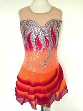 New ListingNew Figure Ice Skating Baton Twirling Dress Costume Girl Xl