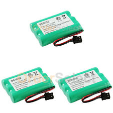 3 NEW Home Phone Rechargeable Battery for Empire CPH-488B Uniden BT-909 BT909