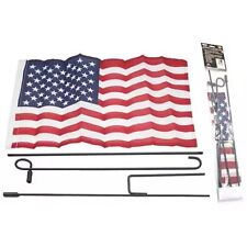 """36"""" USA UNITED STATES FLAG GARDEN POLE KIT Banner Home Flagpole Outdoor American"""