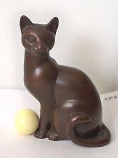 Curio Cabinet Cats 'Art Deco', The Franklin Mint #2