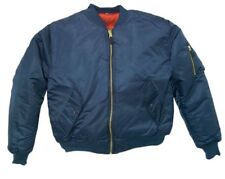 Bomber Jacket NAVY BLUE Fox Outdoor Nylon Men's Flight Military MA-1 Size 2XL