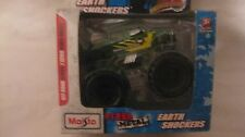 Earth Shockers Monster Truck In A Green 1:32(appx) Scale Diecast 2010 NEW dc1212