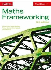 Maths Frameworking - Pupil Book 1.1 by Pearce, Chris, Speed, Brian, Senior, Trev