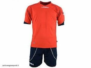 kit Legea Parigi:maglia + pantaloncino rosso/blu