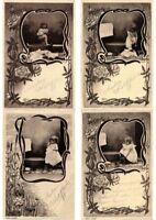 CHILDREN Mostly ARTIST SIGNED 100 Vintage Postcards (PART 16.)