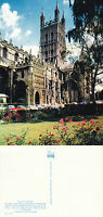 1980's GLOUCESTER CATHEDRAL GLOUCESTERSHIRE UNUSED COLOUR POSTCARD