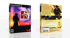 Way Of The Samurai PS2 Replacement Game Case Box + Cover Art Work (No Game)