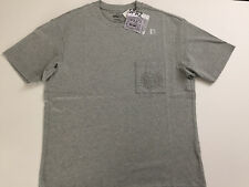 "UNIQLO SPRZ NY KEITH HARING ""MOMA""  EMBOSSED POCKET MEN'S GRAY T-SHIRT - SMALL"
