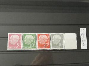 Deutschland, BRD, Mi.-Nr.: W 22 Y , postfrisch, MNH, KW: 70,00