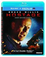 HOSTAGE Bruce Willis SCARCE US RELEASE -- NEW BLU-RAY -- I SHIP BOXED