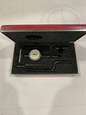 Starrett 0001 Inch Last Word Dial Indicator No 711 T1 With Case