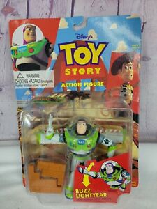Disney Toy Story Buzz Lightyear Karate Chop Action Figure '95 NEW French/English