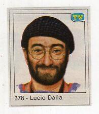 figurina - TV SORRISI E CANZONI - numero 378 LUCIO DALLA