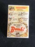 Disney Bambi Poster Pin LE 1000