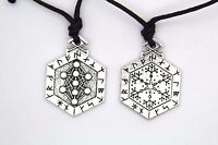 Armanen Runes Talisman Tree of Life Pendant Pagan Wicca Jewelry Necklace Balance