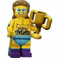 New Lego Wrestling Champion Minifigure From Series 15 (col241 col15-14)