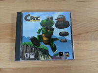 CROC LEGEND OF THE GOBBOS (1997) for PC Windows 95 -- Jewel Case Manual Disc