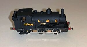 An Gem N Gauge White Metal Class 2F 0-6-0 Locomotive '11234' on a Farish Chassis