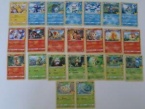 Pokemon McDonalds 25 Jahre Normale u. Holo Karten zum Aussuchen