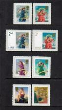 GB MNH 2007 SG2787-94 CHRISTMAS 1ST & 2ND ISSUE MADONNA & CHILD/ANGELS SET OF 8
