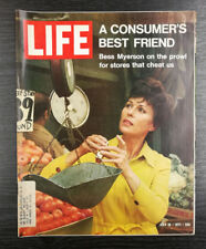 LIFE Magazine: Bess Myerson Cover, July 16th 1971