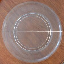 """16"""" Sharp Microwave Turntable Plate/Tray Turntable Track 9 3/4"""" Used Clean"""