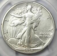 1916-S Walking Liberty Half Dollar 50C - Certified PCGS VF Details - Looks XF!