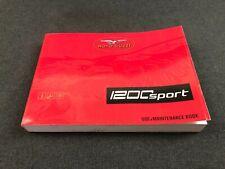 New Genuine Moto Guzzi 1200 Sport 2006 Onward Use+Maintenance Book 977884