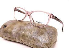 CHANEL 3323 1533 Eyeglasses Optical Frames Glasses Transparent Lilac Purple 54mm