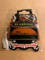 Disney Pin Tomorrowland Marquee DSF GSF DSSH LE 400 On Card