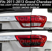 Smoke Tail Light Rear Tint PreCut Overlay Vinyl smoked For 11-13 Grand Cherokee