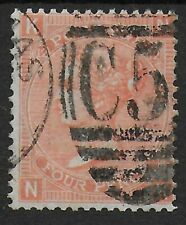 USED ABROAD-SG94. 4d.Vermilion Pl.12. FU With Part C51 Pmk.(St.Thomas). Ref:1222